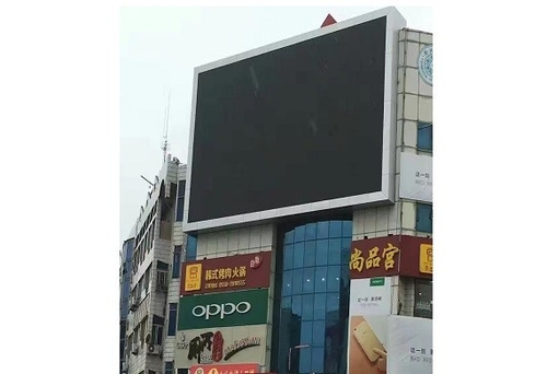 hakkında şirket durumları ShoppingMall video wall led display P6 for advertising usage